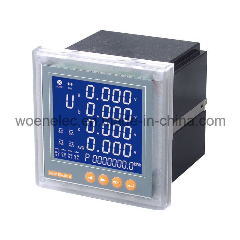 Three Phase LCD Display Multimeter