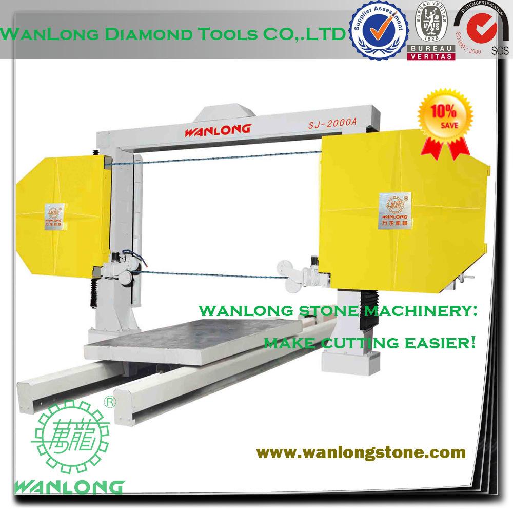 China Sj-2000A Numerical Control Multi Wire Saw Machine for Granite ...