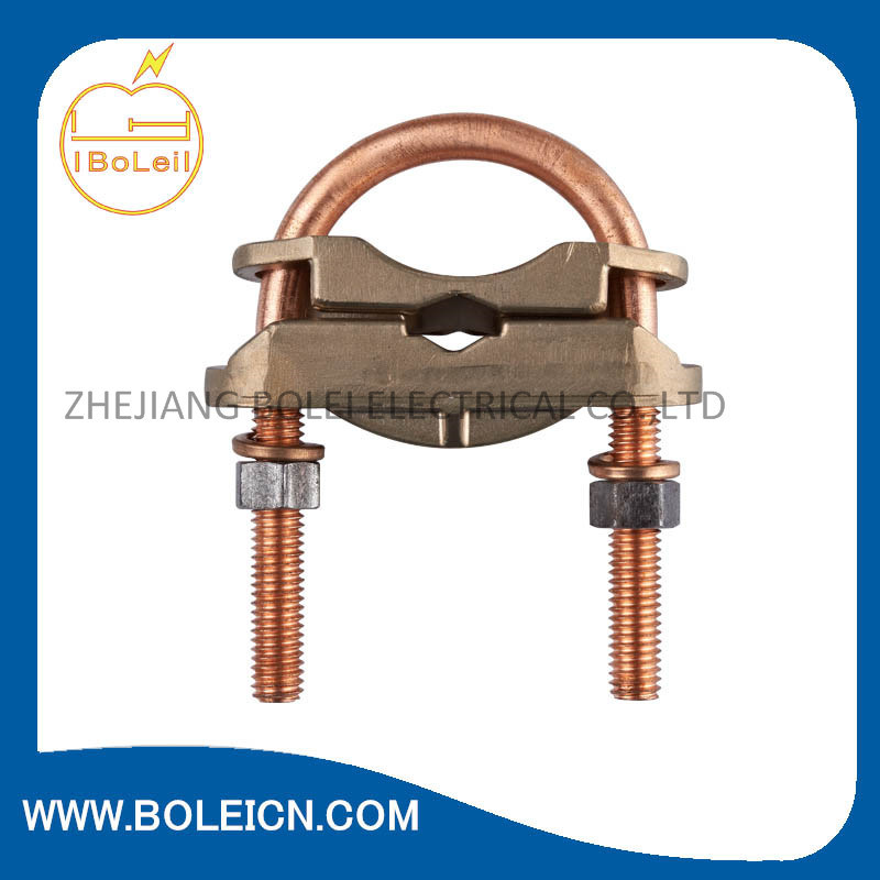 China U-Bolt Copper Ground Clamp for Wire and Pipe - China Clamp ...