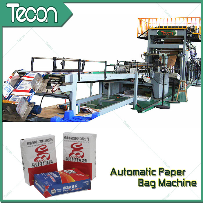 Automatic Multiwall Bottom-Pasted Paper Bag Production Line pictures & photos