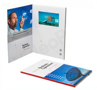 2.4/2.8/3.5/4.3/5/7 Inch LCD Video Greeting Card for Advertisement