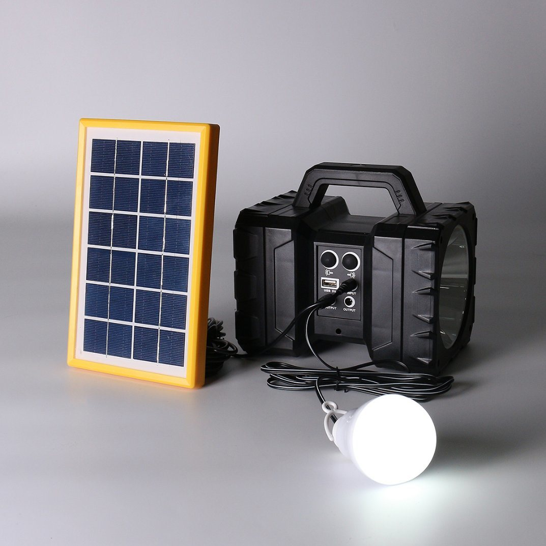 New Solar Camping Lantern Lamp Portable Outdoor Rechargeable LED Tent Hiking Light pictures & photos