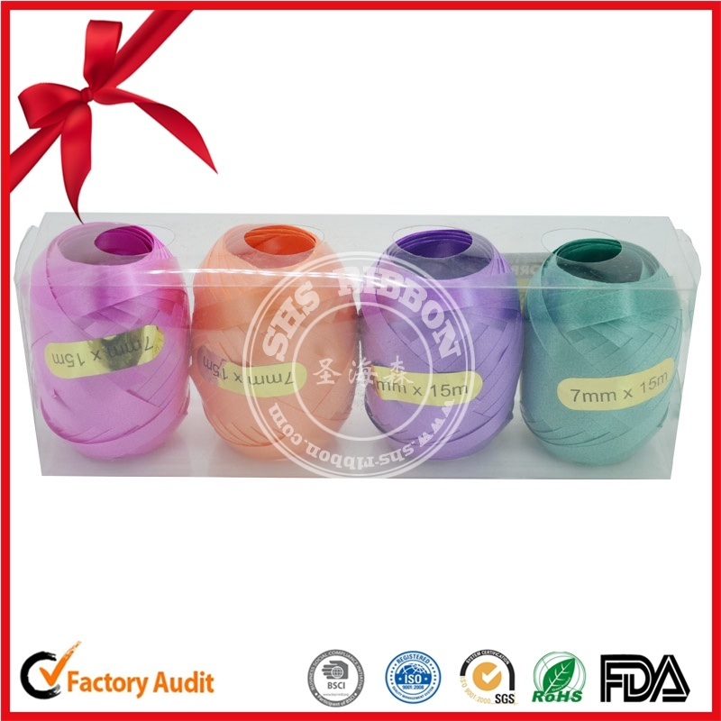 China Plastic Curling Ribbon Egg for Christmas Decoration ...