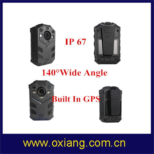 2 Meters Shock-Proof IR Night Vision IP67 Full HD1080p Police Body Worn DVR pictures & photos