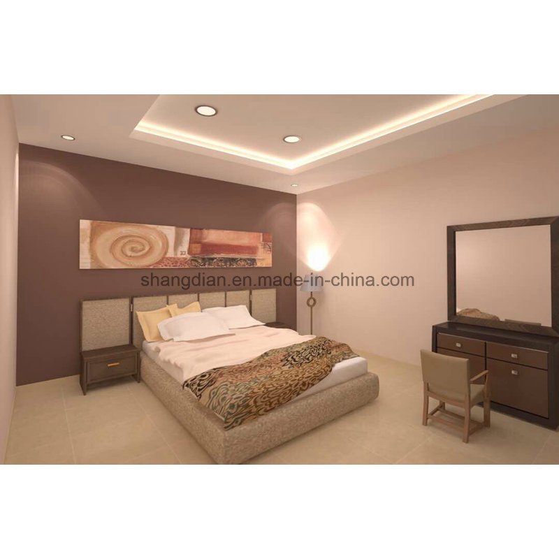 China Hotel Apartment Furniture Queen Size Bedroom Furniture Set