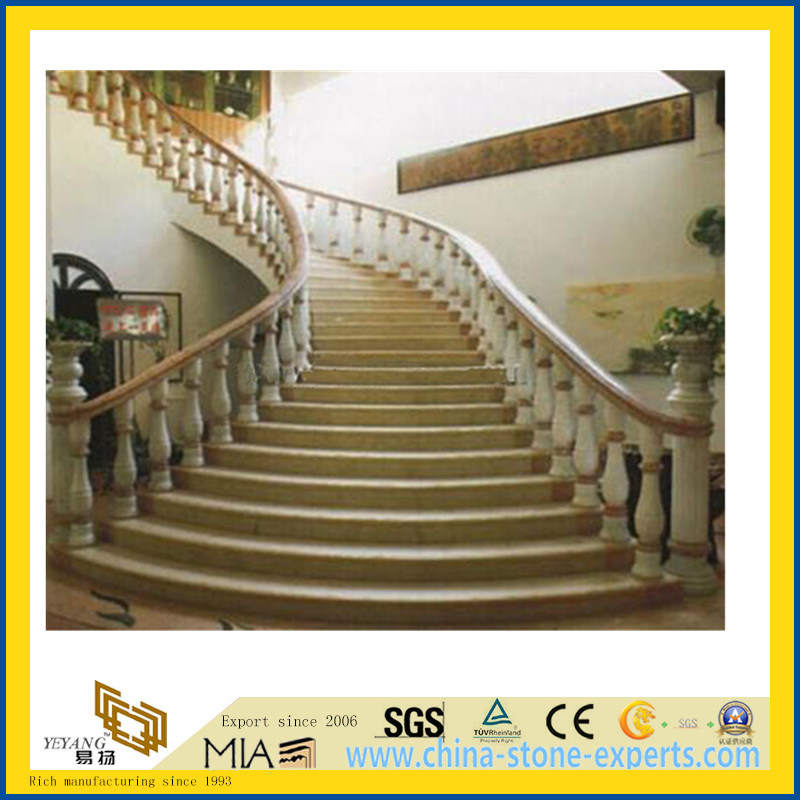 China Granite Stone Staircase Banister Railings For Home