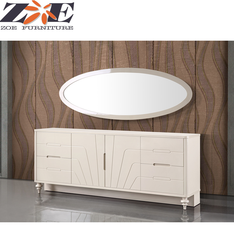 China Mdf High Gloss Pu Painting Dining Room Cabinet Furniture With Mirror China Cabinet Dining Room Set Dining Room Cabinet Furniture
