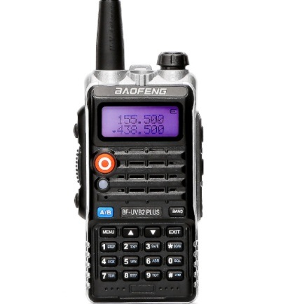 7fb0f51f7 Baofeng UV-B2 Plus Handheld Wireless Mobile Walkie Talkie 136-174 400-520  MHz Hf FM Ham Police Two Way Radio