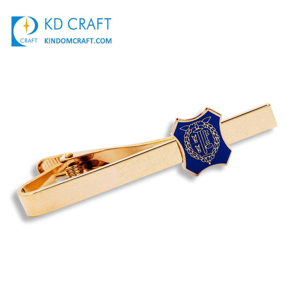 56ead3587165 Manufacturer Custom Embossed Logo Fashion Brass Rose Gold Men Tie Bar  Cufflink Set Wholesale Engraved Anchor Masonic Bus Skinny Airplane Glasses  Metal Tie ...