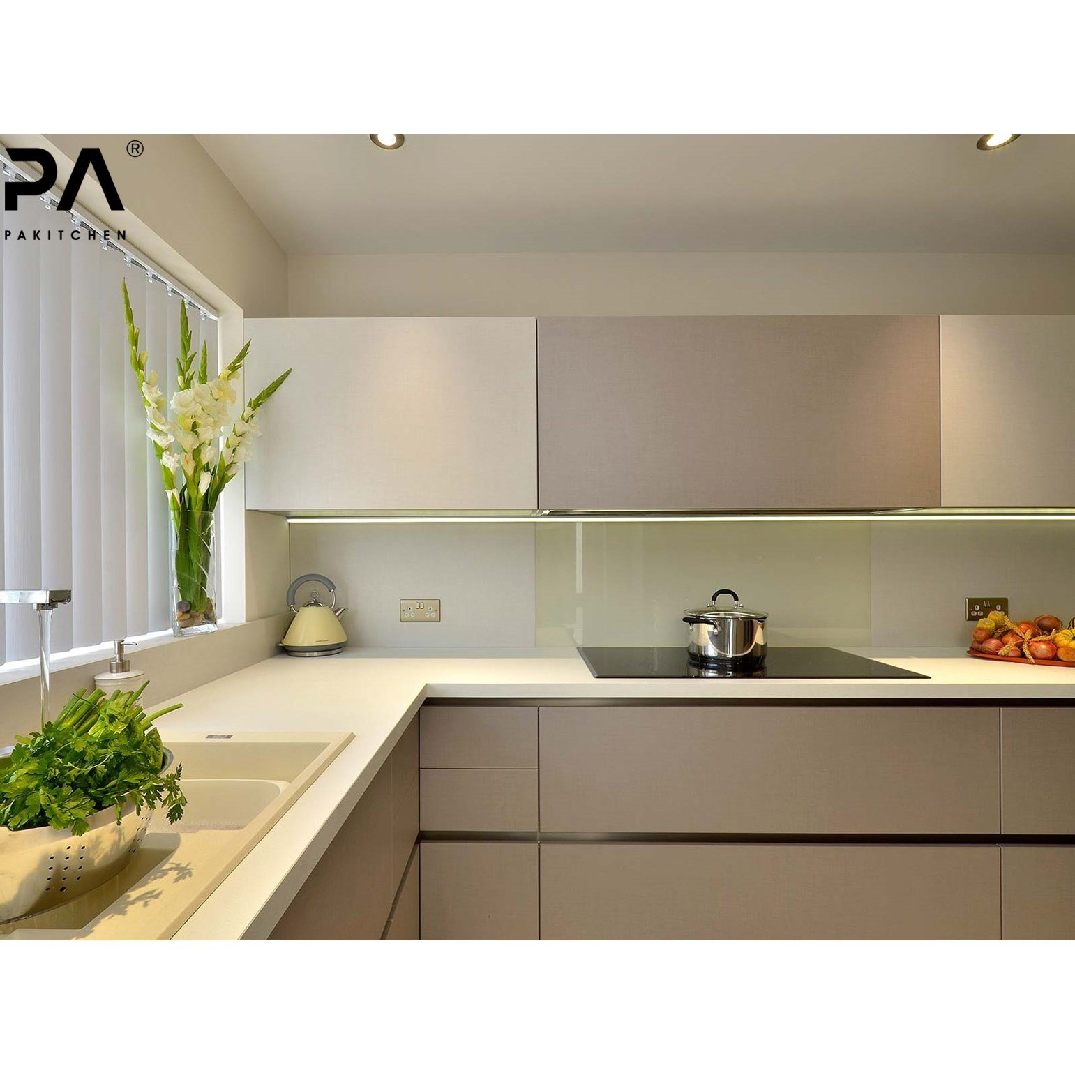 China Foshan Wholesale High End Knock Down Contemporary Plywood Termite Proof Lacquer Kitchen Cabinet Bespoke Kitchen Cabinetry Photos Pictures Made In China Com
