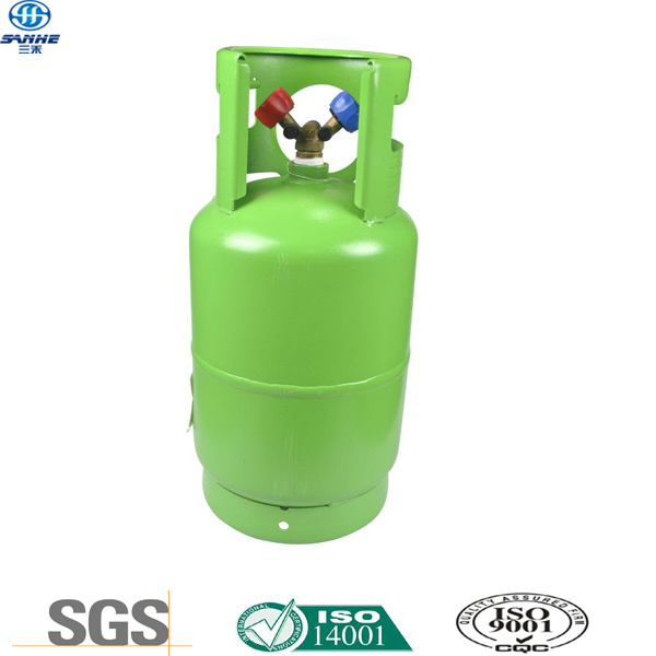 Refrigerant R134A in Double Valve CE Certified Cylinder