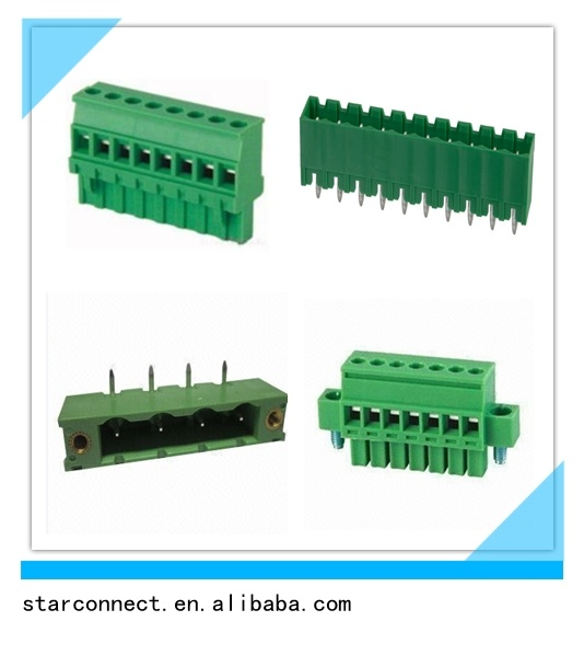 3.5mm 3.81mm 5.0mm 5.08mm Electrical Terminal Block pictures & photos