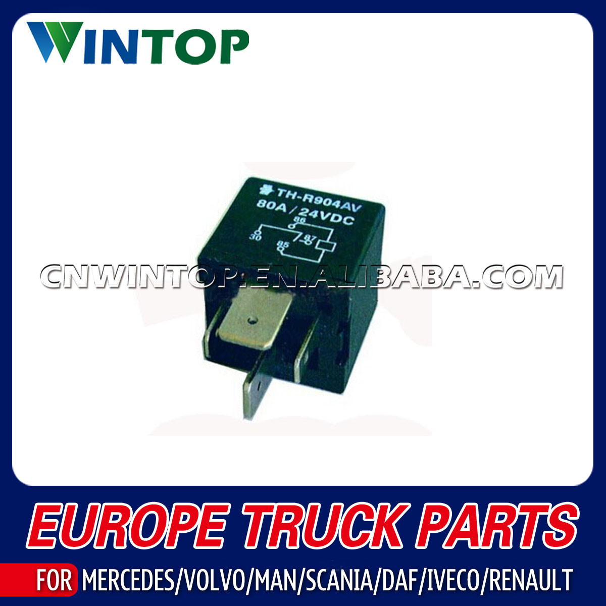 China High Quality Relay For Heavy Truck Scania Oe