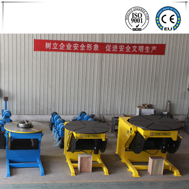 Automaitc Welding Positioner for MIG Welding Capacity 5000kg 5t pictures & photos
