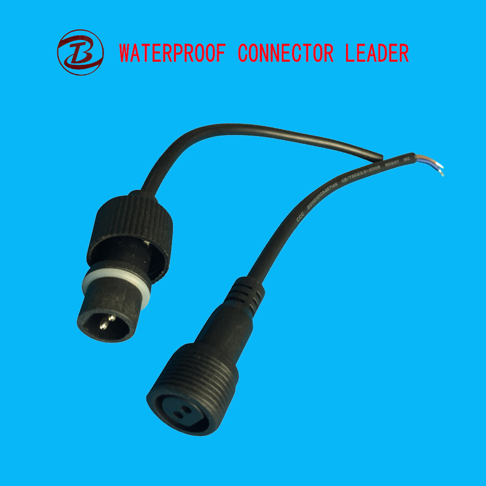 China Factory Hot Sale IP68 2 Pin Waterproof Automotive Electrical ...
