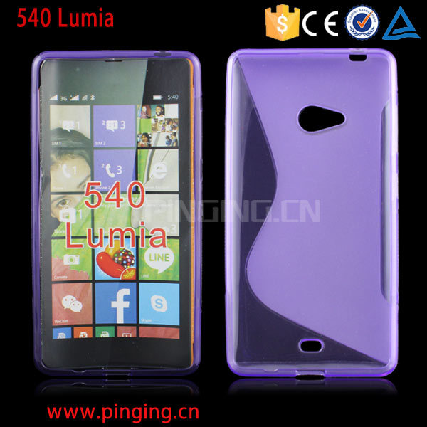 new product bf885 b4b9b [Hot Item] S Line TPU Back Cover Case for Nokia Lumia 540 550 650 850