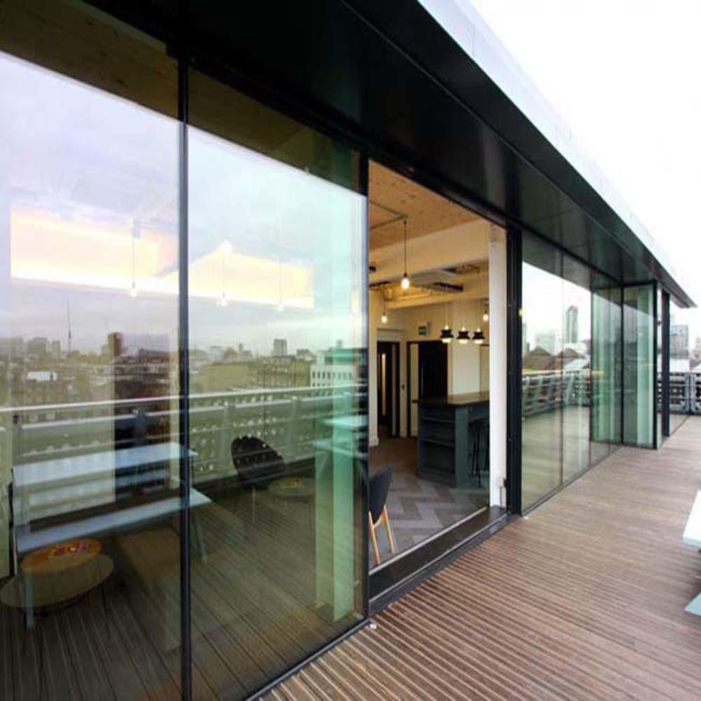 China Soundproof Insulated Glass Aluminum Sliding Door