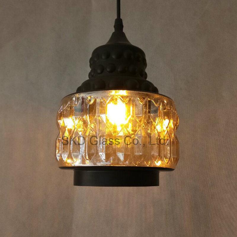 China Mini Glowing Glass Lamp Shade For, Black Glass Lamp Shades