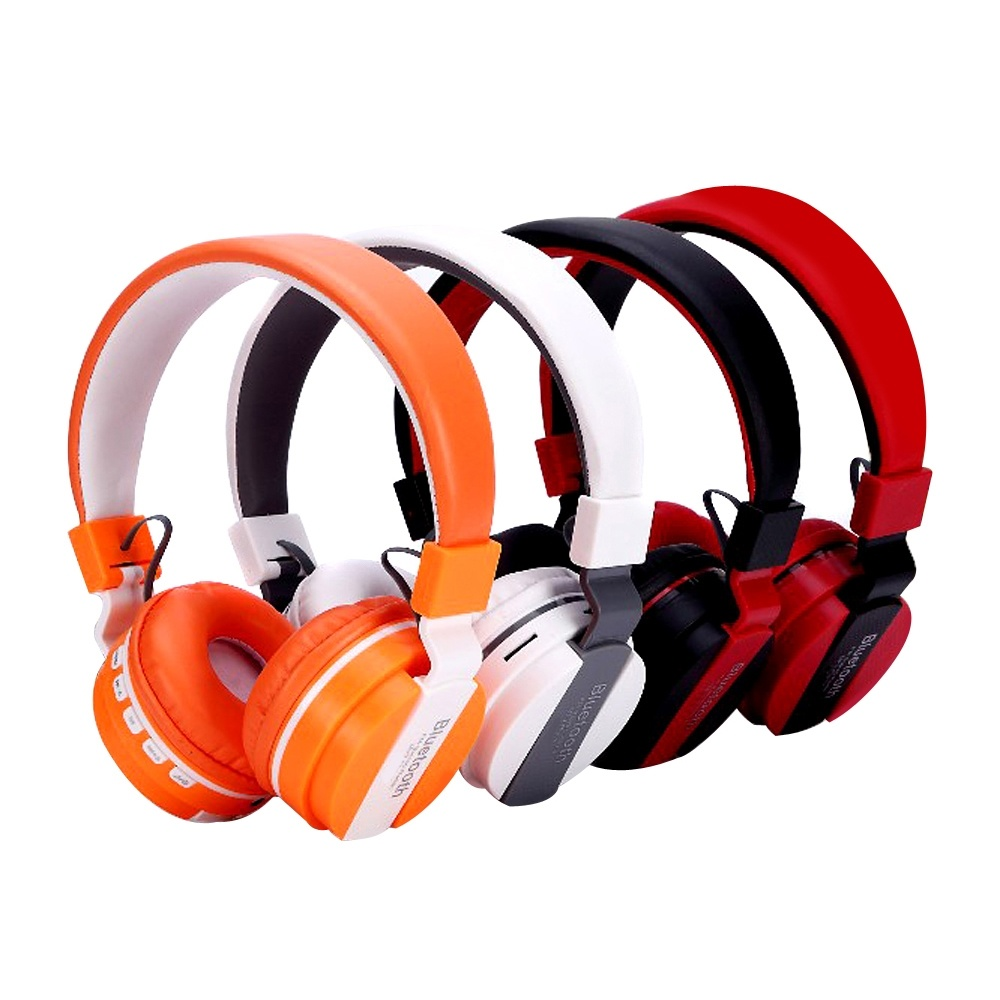 China Foldable Bluetooth Headphones Stereo Wireless Over Ear Headset With Mic For Smartphones Tablets Pc China Bluetooth Headphone And Over Ear Headset Price