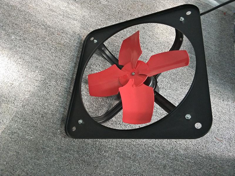 Light Duty Square Type Industrial Exhaust Fan/Stainless Steel Kitchen  Exhaust Fan