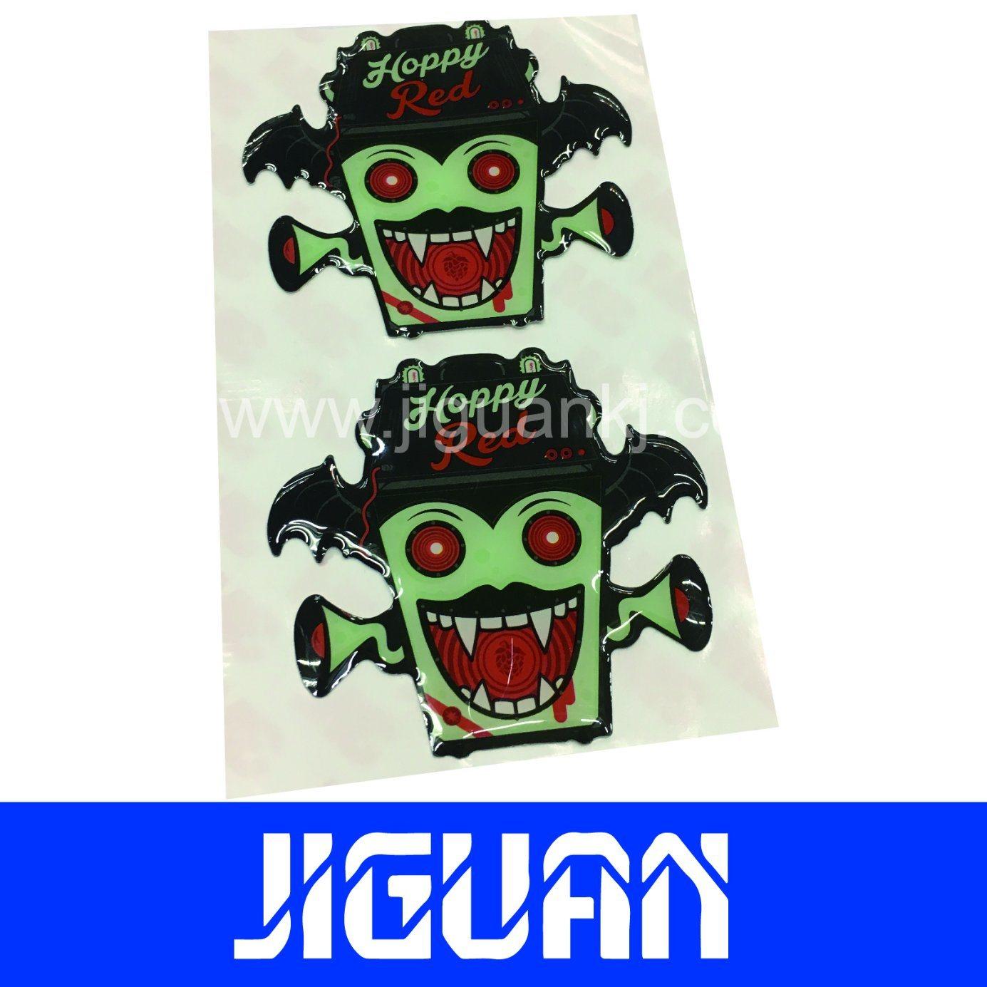 China modern design best price wholesale custom weatherproof pu epoxy stickers china epoxy stickers pu epoxy stickers