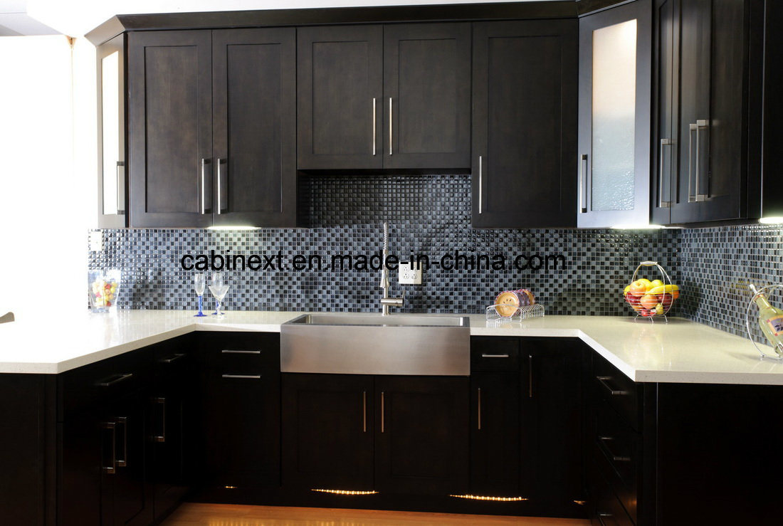 Hot Item Espresso Shaker Kitchen Cabinets Wholesales Or Project
