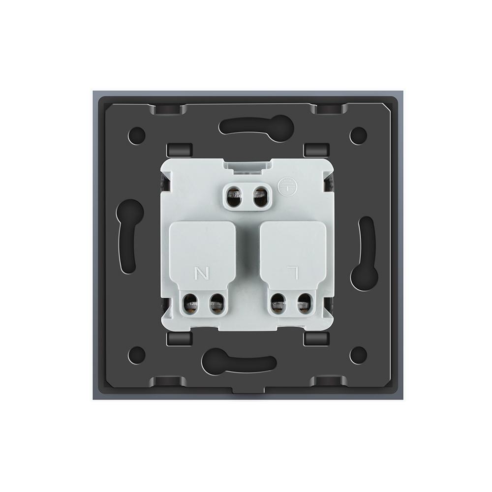 China Livolo New Outlet EU Standard Wall Power French Socket, Vl ...