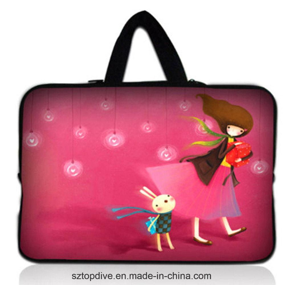 [Hot Item] Flatlock Stitch Insulated Neoprene Handle Strap Laptop Bag