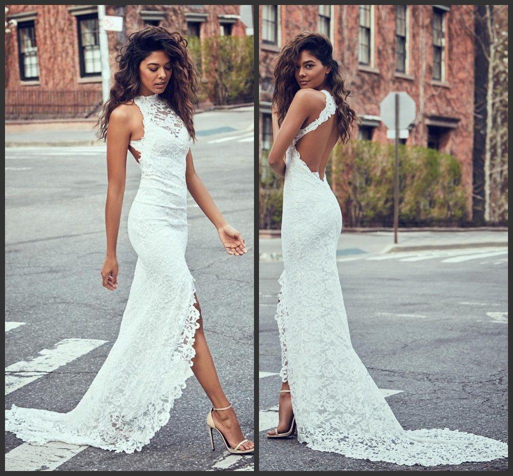 China Lace Bridal Evening Gowns Halter Sheath Backless Wedding Dress Lb18542 China Wedding Dress And Prom Dress Price,Ball Gown Wedding Dress Sparkle