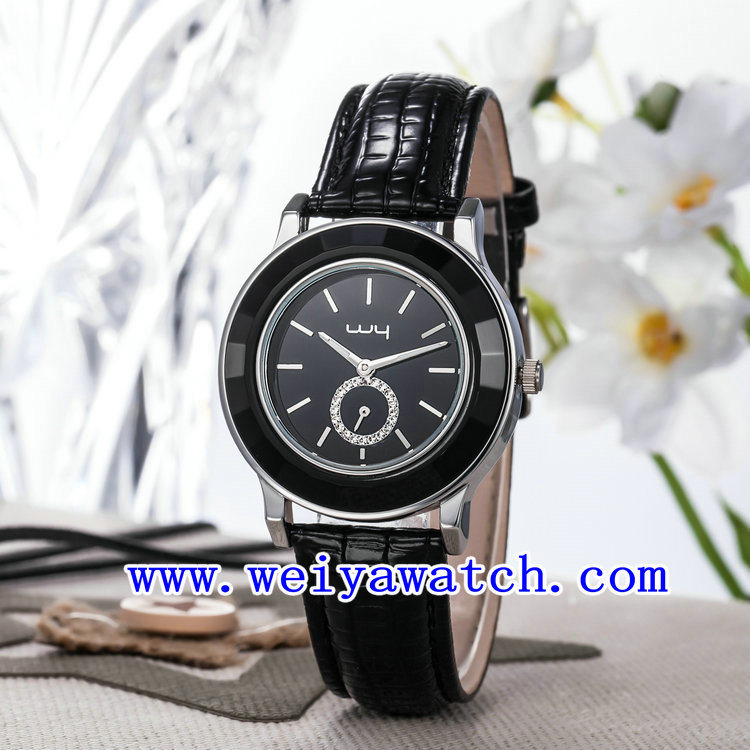 Hot Selling Watch Leather Luxury Wrist Watches for Women (WY-023E) pictures & photos