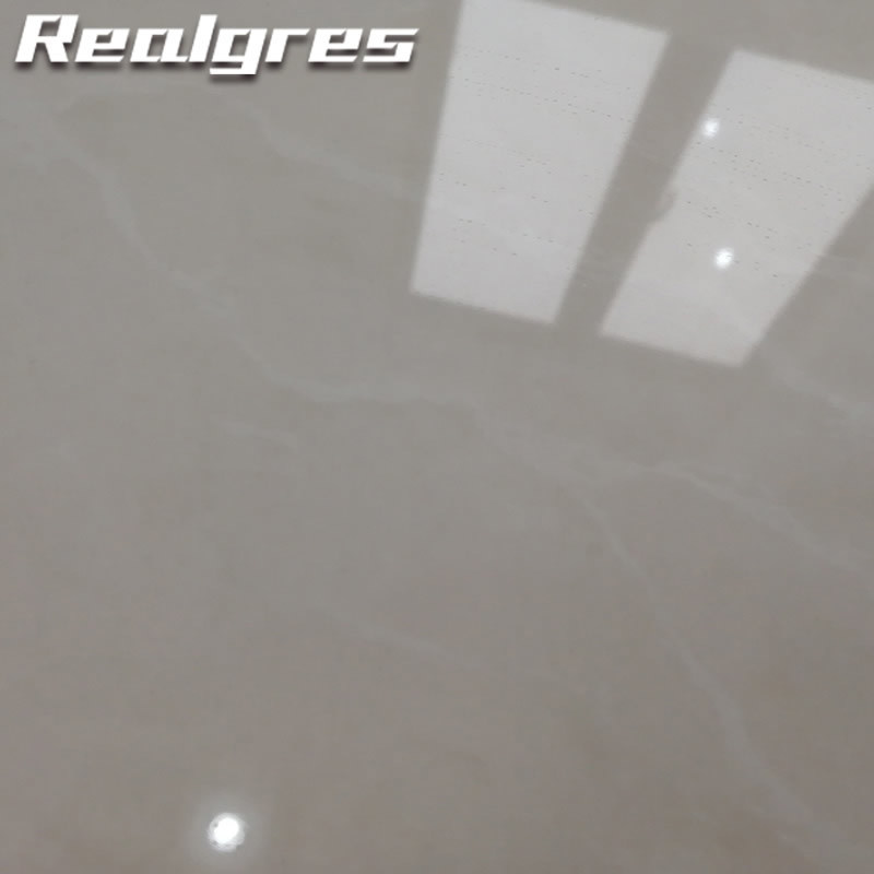 China R6g01 Solid Color Polished Porcelain Floor Tiles Sparkle Floor