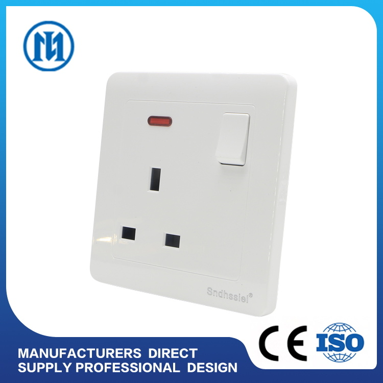 China Newest Designed Wall Switch and Socket for Egypt/Jordan ...