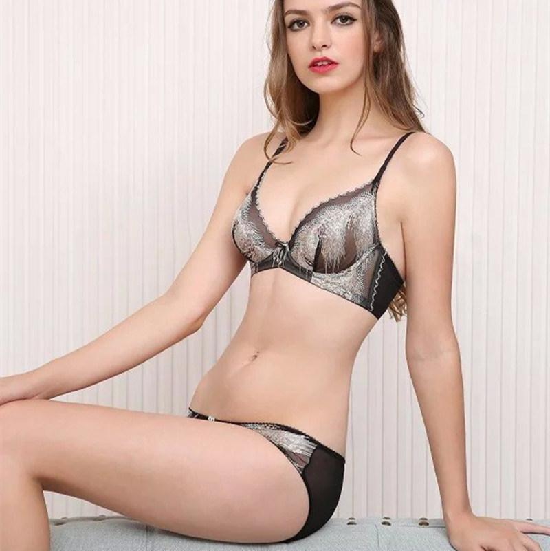 e72601dfd7 China Good Quality Lady Transparent Bra Panty Set (CS21128) Photos ...