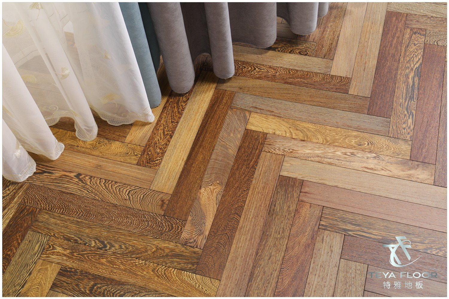 Wenge Oak Solid Wood Flooring china engineered wood flooring/wenge species/timber flooring