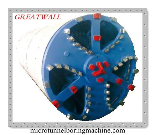 China Npd1500 Slurry Balance Microtunnel Boring Machine Pipe