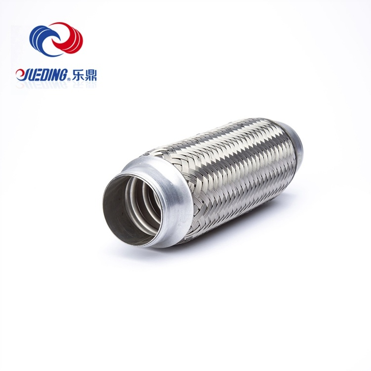 Manufactures Vibrant Absorbing Motorcycle Exhaust Flexible Muffler Pipe