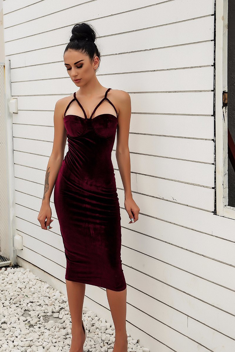 Sexy V-Neck Short Backless Dress