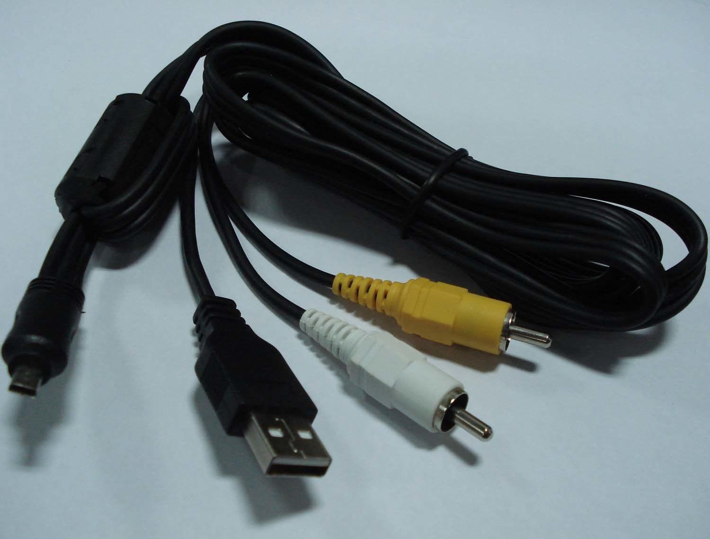 XIAOMIN Digital Camera AV Cable for Olympus Premium Material