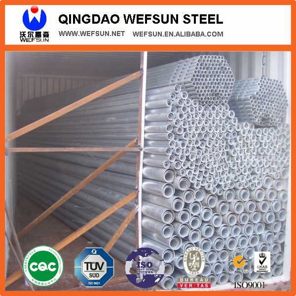 Hot Dipped Galvanized Steel Pipe -Q235 Ss400 pictures & photos