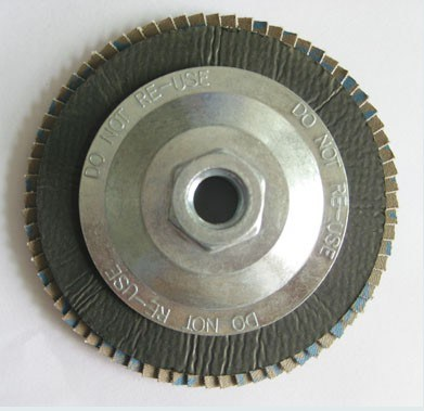 Abrasive Upright Non-Woven Flap Disc