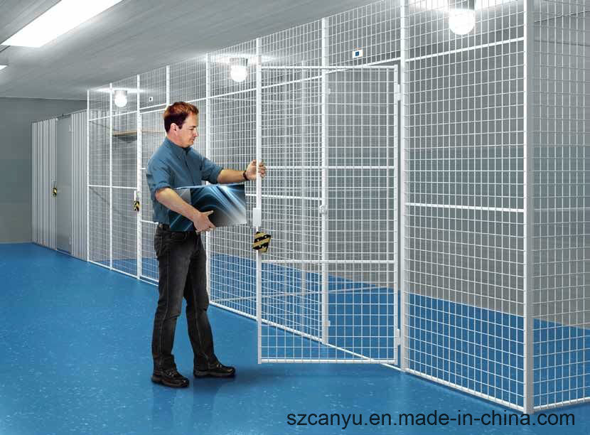 China PVC Coated Galvanized Garden Partition Wire Mesh Panels ...