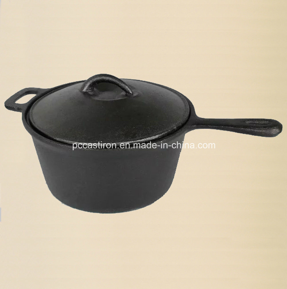 Preseasoned Cast Iron Dutch Oven Outdoor Camping Set pictures & photos