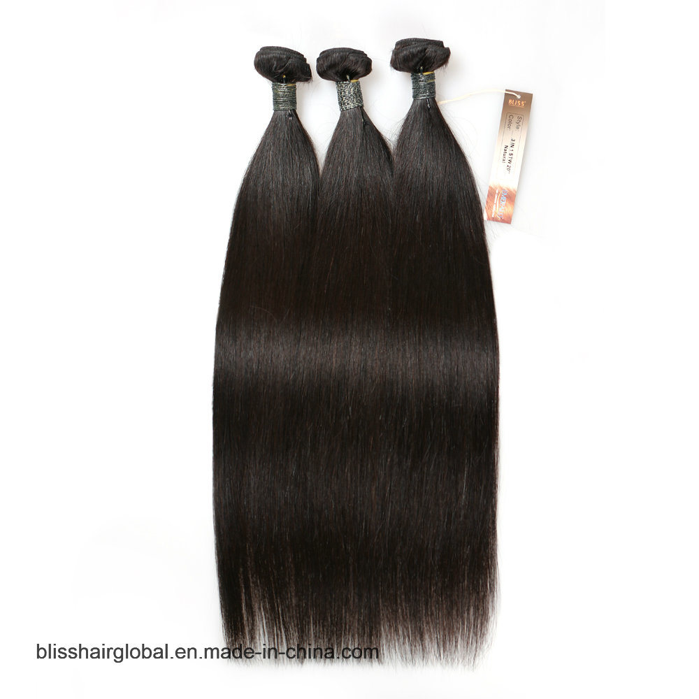 "Bliss Emerald Sg Straight 8""-30"" 7A 100% Virgin Remy Brazilian Human Hair Top Grade Unprocessed Dyeable Cheap Bundle Hair pictures & photos"