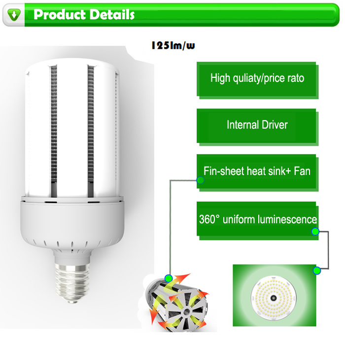 125lm/W E39/E40 80W/100W/120W LED Corn Light pictures & photos