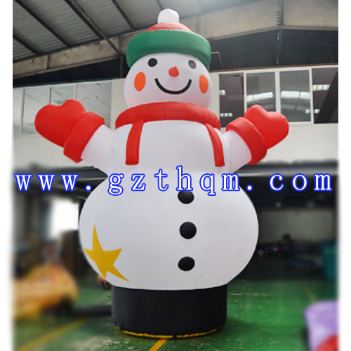 outdoor large inflatable snowmanfashionable inflatable snowman model christmas decoration outdoor