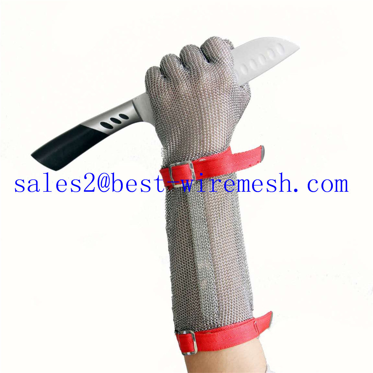China Chain Mail Stainless Steel Protective Gloves