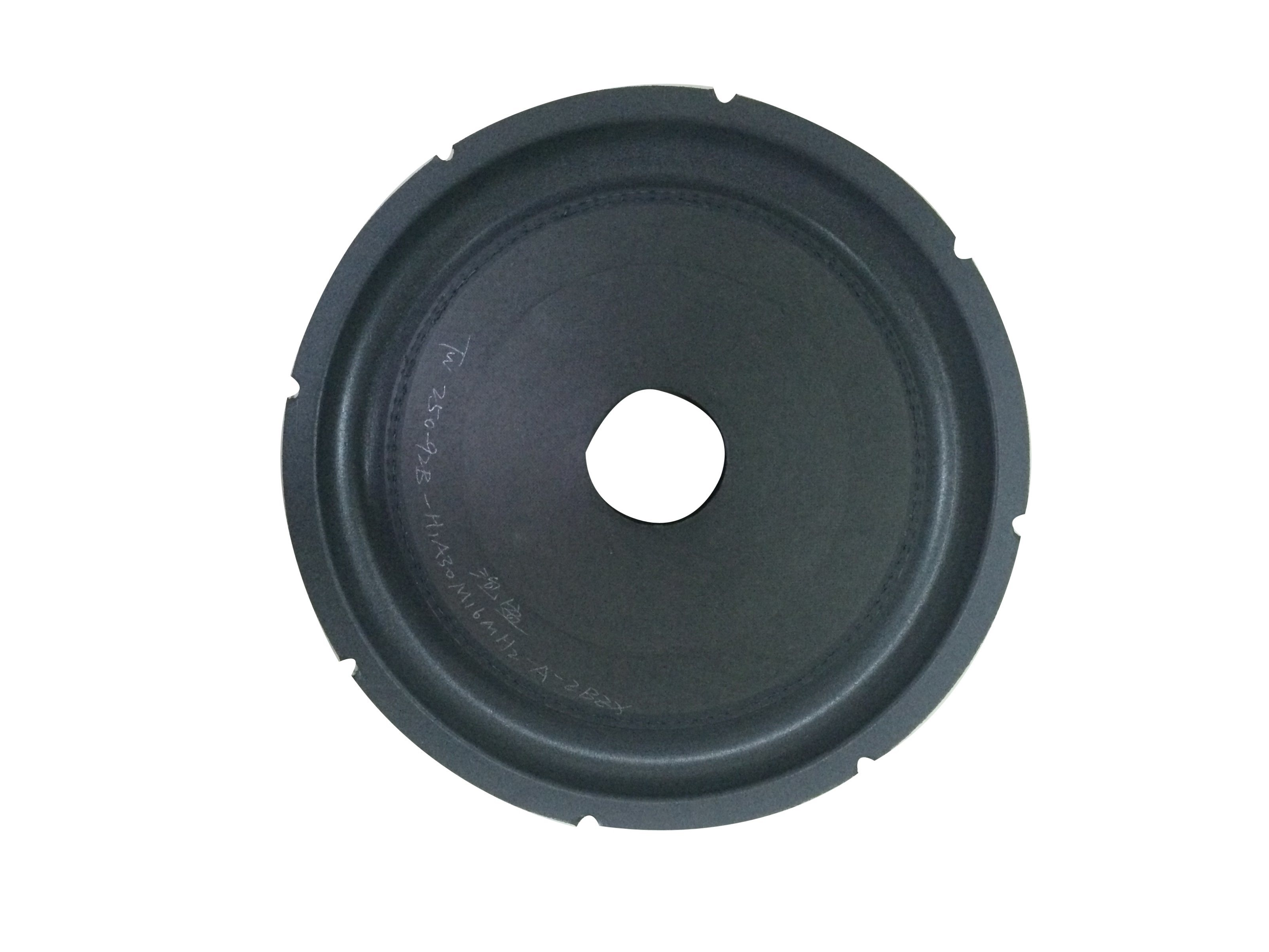 Subwoofer Speaker Parts Cone for Car Speaker System-10inch Foam Edge Cone