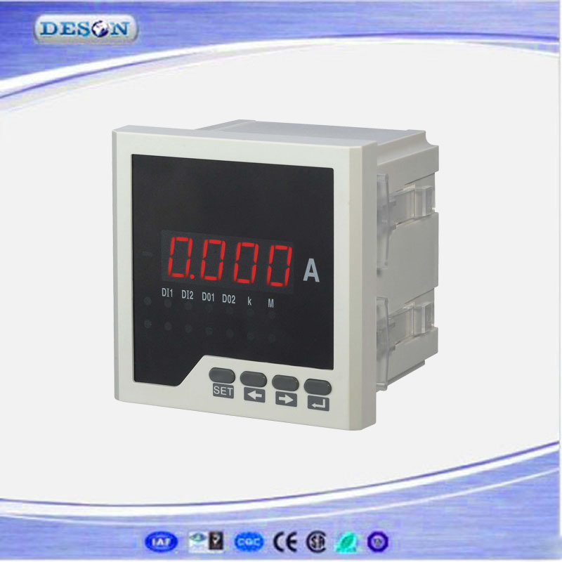 Panel Mounted Single Phase Digital AC/DC Ammeter