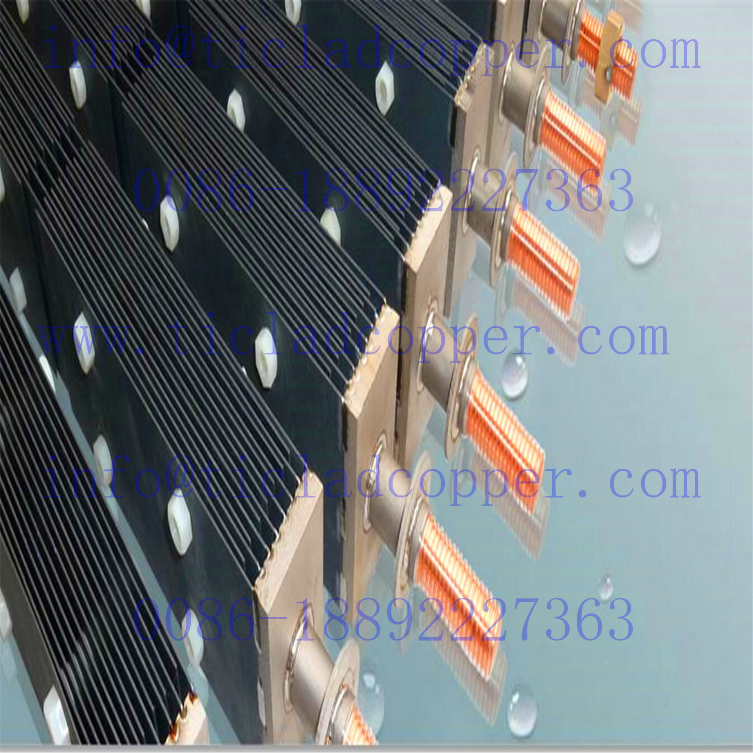 Active Coating Titanium Anodes for Electrolysis pictures & photos