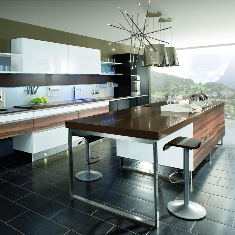 Images Of Modern Wall Mount Bicolor Kitchen Cabinet